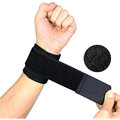 lquide Fitness Sports Wristbands Men And Women Basketball Badminton Volleyball Anti-spinning Bandage Protection Wrist Sweat-absorbent Breathable Estimated Price £20.51 -