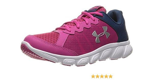 Under Armour UA GPS Assert 6, Zapatillas de Running para Niñas, Rosa (Tropic Pink 654), 32 EU: Amazon.es: Zapatos y complementos