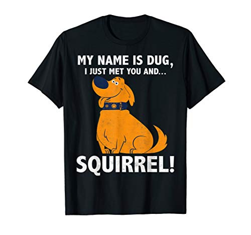 Doug From Up (Dug Squirrel T-shirt)