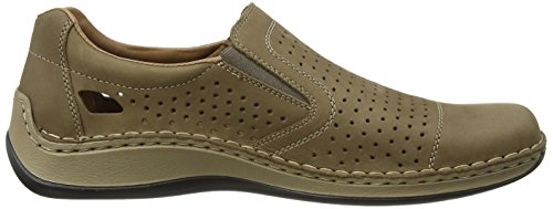 Rieker 05286 Loafers & Mocassins-men - Mocasines Hombre Beige - Beige (stone / 64)