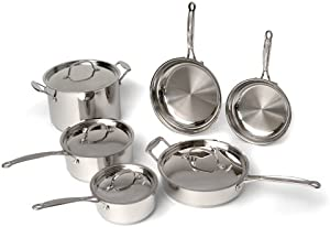 BergHOFF Earthchef Premium 10-Piece Cookware Set