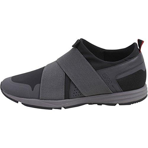 Scarpe Da Corsa Sneakers Slip-on Ibride Da Uomo Hugo Boss Nere