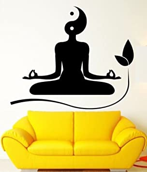 Yoga Meditation Zen Buddhism Yin Yang Creative Art Removable High