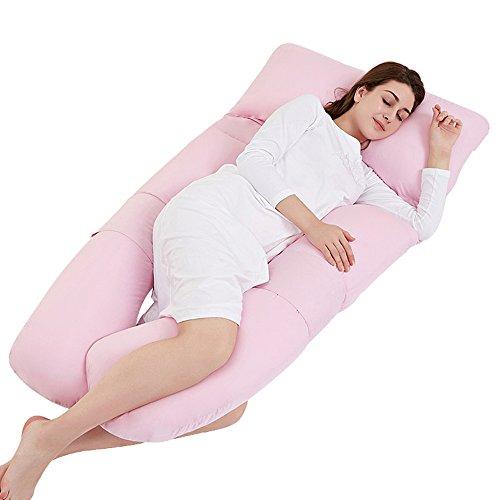 Pregnant women pillow / nursing waist pillow pillow / pillow U-pillow / multi-functional care belly sleeping pad / sleeping side pillow ( Color : Jade ) by Pregnant women pillow