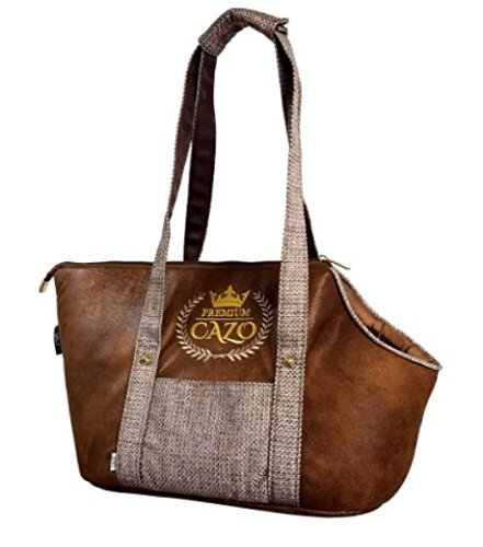 Cazo Premium Pet Bag imitation leather 40x24x30cm