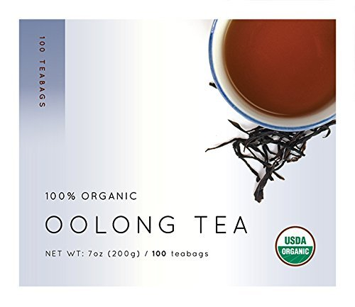 Wuyi Mtn. Oolong (Wu Long) Tea Bags, 0.07 Ounces x 100 teabags by Kazu's