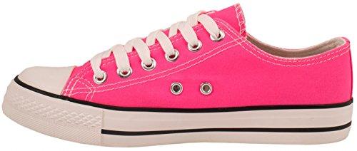 Zapatillas Elara de para tela mujer Rosa 0Ux6xnwRg