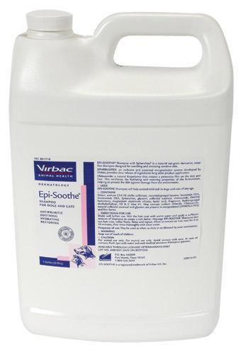 Virbac Epi-Soothe Shampoo – Gallon, My Pet Supplies