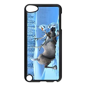 Customize Frozen Snowman Back For Iphone 5/5S Case Cover JNIPOD5-1208