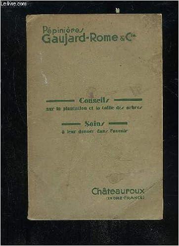 Lire Le Livre En Ligne Pepiniere Gaujard Rome Conseils Dur