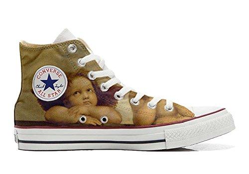 Italien Et Unisex Sneaker Personnalisé Coutume Michelangelo Chaussures Hi produit Artisanal Star Converse All Imprimés Ztwz8Pq