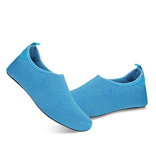 Barefoot Jh and Mens Aqua Beach Quick Shoes blue for Water Yoga Shoes Swim Socks Summer Womens for Dry Exercise tAYfqwT