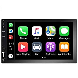 Camecho 7 inch Double Din Car Stereo 1080P HD Touch Screen Radio D-Play Universal Car Multimedia Player Support Android… 11