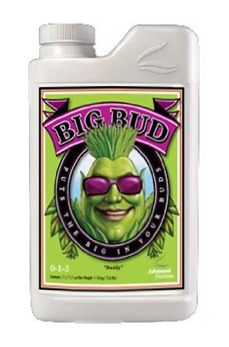 Advanced Nutrients Big Bud Liquid Fertilizer, 1-Liter by Advanced Nutrients