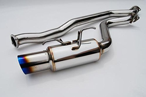 Invidia HS08SW5GRT Racing Cat-Back Exhaust System with Titanium Tip for Subaru WRX 5-Door ()