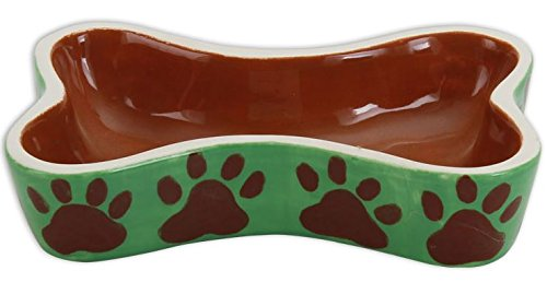Paint Your Own Dog-Gone Awesome Ceramic Keepsake Dog Bone Dog Bowl