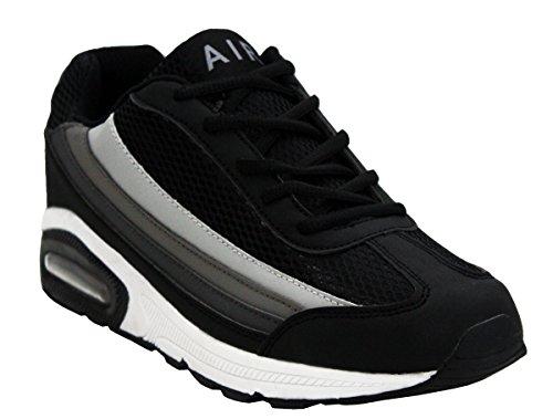 Gymnase Fitness Tech Dentelle Absorbant Gris Chaussures D'exécution Pointures 7 Sport Formateurs Anglaises 12 En Blanc Air Cours Hommes Les En Baskets Chocs Noir gOwPdqOF