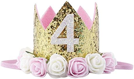 Princess Birthday Sparkle Flower Artificial product image