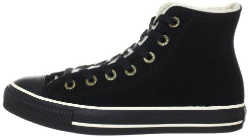 111517 Sneaker Converse Mono Adulto Star Hi Unisex Shearling Suede Black CnXURwq