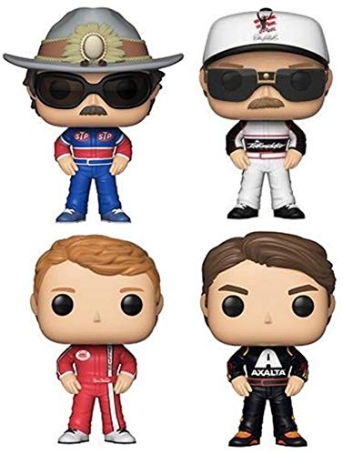 Funko Pop! NASCAR - The Hall of Fame Collection Vinyl Figures, 3.75