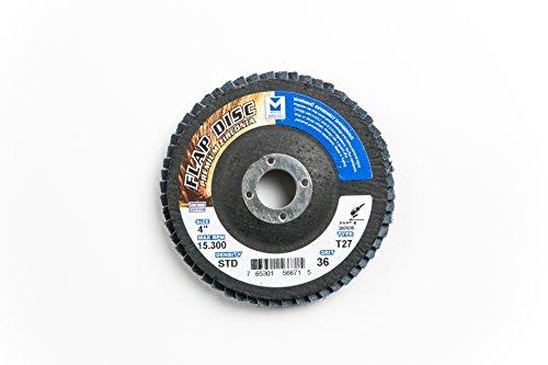 Mercer Industries 287036 Zirconia Flap Disc, Type