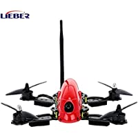 2017 RC Hobby Lieber Carbon Fiber UAV Hawk LB-280 FPV Racing Drone with HD Camera Remote Control CC3D Flight Controller - Red-ATF