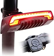 MEILAN X5 Smart Bike Tail Light with Turn Signals and Automatic Brake Light Wireless Remote Control Bike Rear
