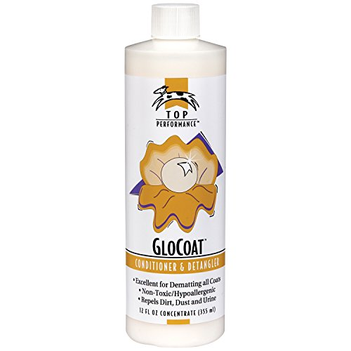 Top Performance GloCoat Pet Conditioner and Detangler, 12-Ounce