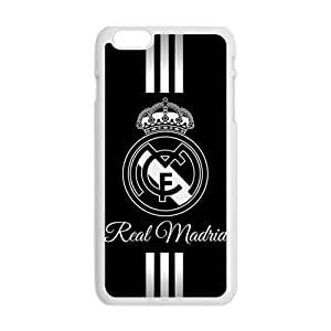 SKULL Real Madrid Cell Phone Case for Iphone 6 Plus