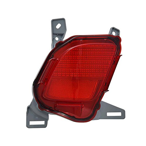 NEW LEFT REFLECTOR LIGHT FITS TOYOTA HIGHLANDER 2014-2016 81490-0E020 814900E020 TO1184108 by Rareelectrical