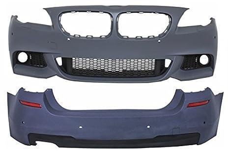 KITT® COCBBMF10MTPDCWF Kit de cuerpo parachoques delantero sin faros antiniebla parachoques trasero: Amazon.es: Coche y moto