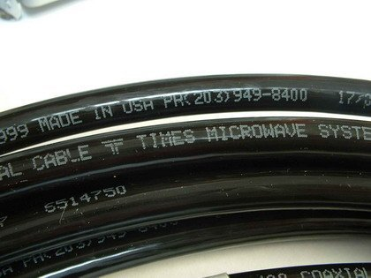 MPD Digital LMR400-pl259-pl259-35 Genuine Times Microwave LMR-400 Ham/CB Radio Jumper Antenna Coaxial Cable