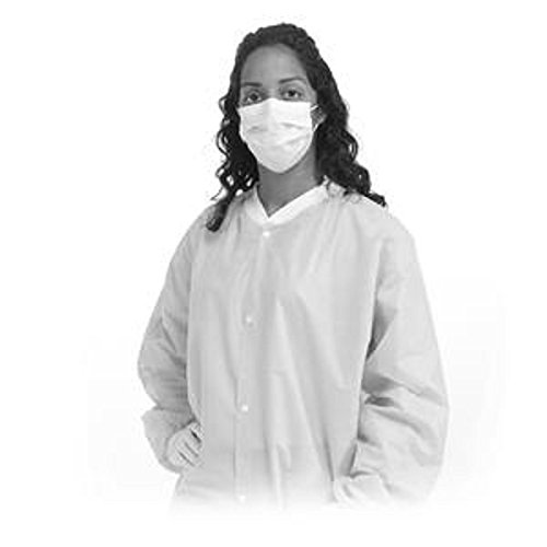 Premium White Lab Coats, 2X-Large, Case of 50 by AliMed
