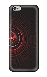 Audrill Iphone 6 Plus Well-designed Hard Case Cover Abstract Red Protector
