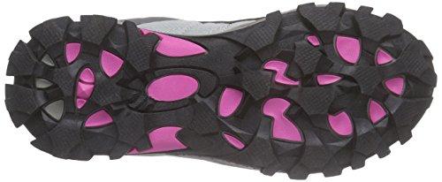 ICEPEAK Waheed Jr - Zapatillas de senderismo Unisex Niños Gris - Grau (615 light pink)