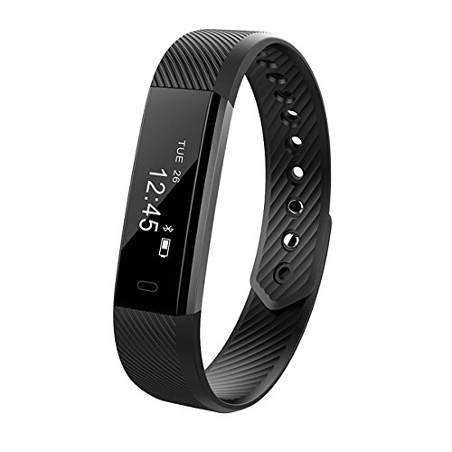 Fitness Tracker - Homogo Smart Band Activity Health Tracker with Slim Touch Screen for Step Distance Calories track - Sleep monitor - pedometer and more