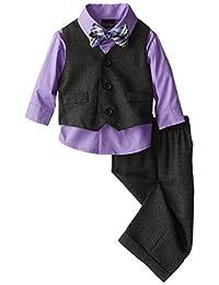 Nautica Baby-Boys Newborn Birdseye Vest Set