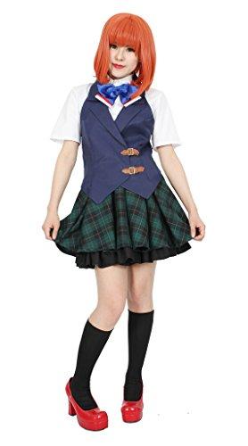 Nanami Haruka Cosplay Costume (MILICA BOOKS Uta no Prince-sama Saotome academy Haruka Nanami Cosplay Costume Size L)