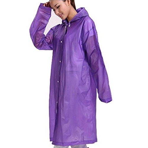Neal LINK Waterproof Jacket Hooded Poncho Raincoat Rain Cape Wind Coat 5''6' EVA 1 Pack (5)
