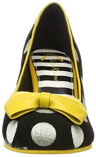 Lola Ramona Women's Elsie Closed Toe Heels Black (Black 71) axOi6MspX