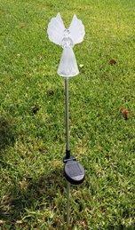 Angel Solar Garden Stake Color Change Light