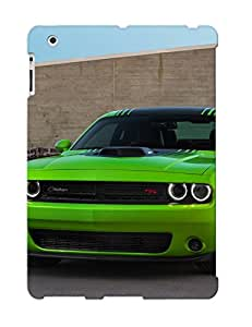 Defender Case For Ipad 2/3/4, Dodge Challenger 2015 Muscle Car Pattern, Nice Case For Lover's Gift