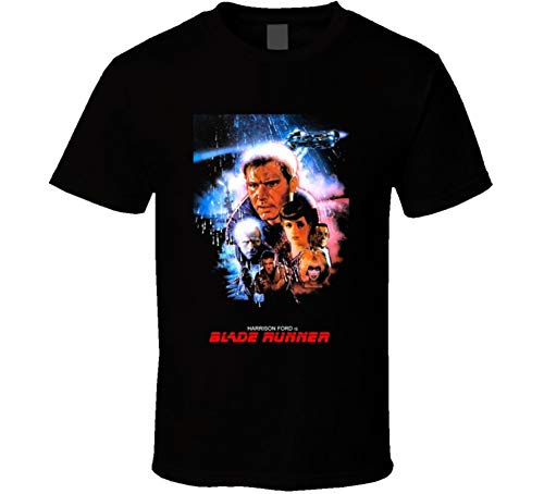 Blade Runner Harrison Ford Movie T Shirt, S to XXL