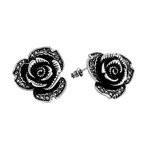Rose Ear Studs Ladies Of Fashion Earrings Everyday Earrings