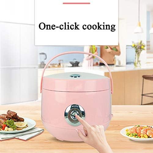 Piccolo Cuociriso Domestica Intelligente Rice Cooker con Coperchio Interno Rimovibile E Vapore Vent (2-5L),Blu,4L