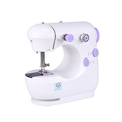 OMIU Multifunction Pink Electric Home Desktop Sewing Machine Handwork US Plug 9W (Purple) by OMIU