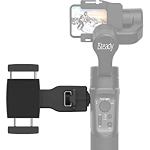 Hohem Smartphone Holder Phone Clip for Hohem Gimbal Accessories for iSteady Pro 2, Mobile Plus Gimbal Stabilizer with 1/4'' Screw Sold by USKEYVISION 20