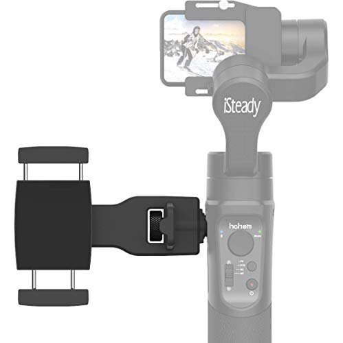 Hohem Smartphone Holder Phone Clip for Hohem Gimbal Accessories for Hohem iSteady Pro 2/3, Mobile Plus Gimbal Stabilizer with 1/4'' Screw Sold by USKEYVISION