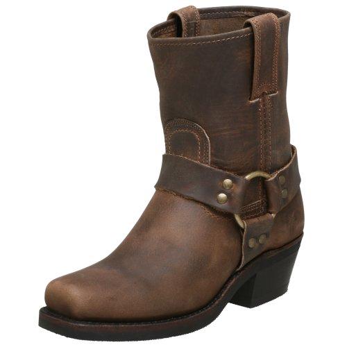 (FRYE Women's Harness 8R Boot, Tan, 8 M US)