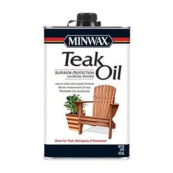 Minwax 471004444 Teak Oil Pint Household Wood Stains Amazon Com